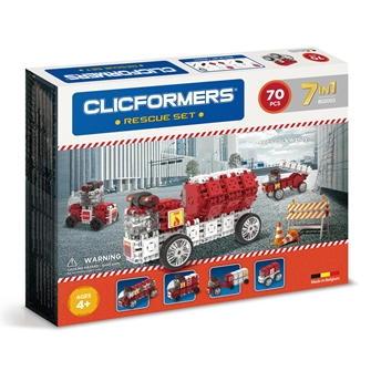 Image of Clicformers - Firefighter Set (8809465532888)