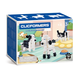 Image of Clicformers Loving Friends Set, 79 pcs. (8809465535742)