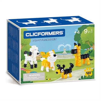 Image of Clicformers Puppy Friends Set, 123dlg. (8809465535766)