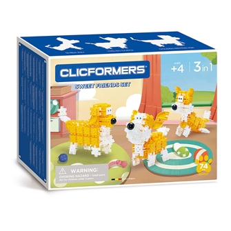Image of Clicformers Sweet Friends Set, 74 pcs. (8809465535735)