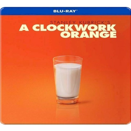 Image of Clockwork Orange, A Limited Steelbook Blu-Ray (7340112744229)