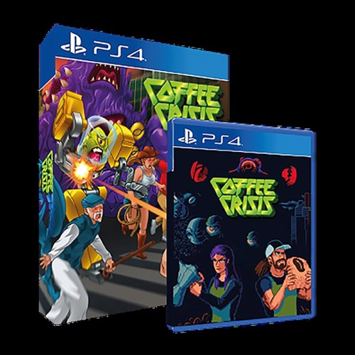 Image of Coffee Crisis Special Edition - PS4 (8436016710725)