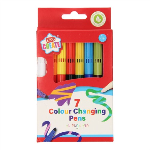 Image of Color Changing Markers, 7pcs. (5012128557248)