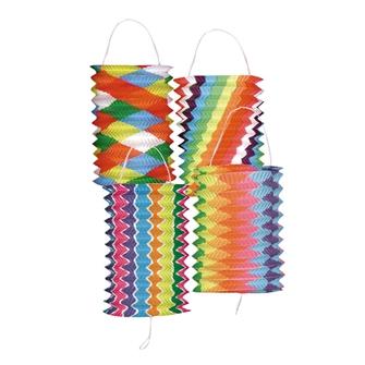 Image of Lanterne Papir Multifarvet (8712026420312)