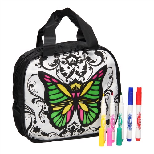 Image of Color your own Bag Butterfly (3800966025652)