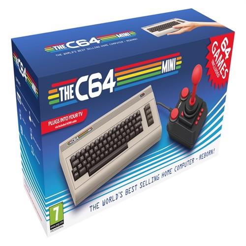 Image of Commodore 64 Mini C64 Spanish Box/multilingual machine /Commodore 64 (4020628774882)