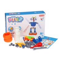 Construction and Playset Robot, 59 pcs.