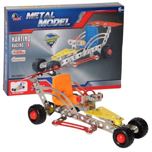 Image of Construction Metal Race Car, 109 pcs. (3800966022729)