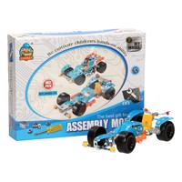 Construction set Metal Racing cars 2in1, 103dlg.