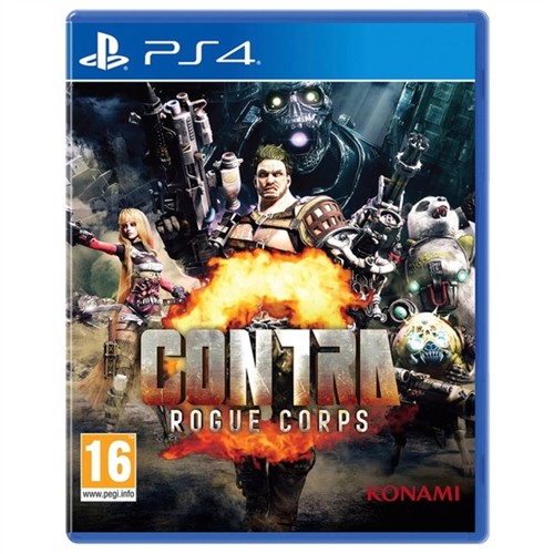 Image of Contra Rogue Corps Nintendo Switch