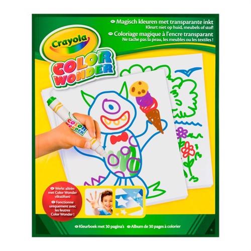 Image of Crayola colorwonder tegneblok 30 sider
