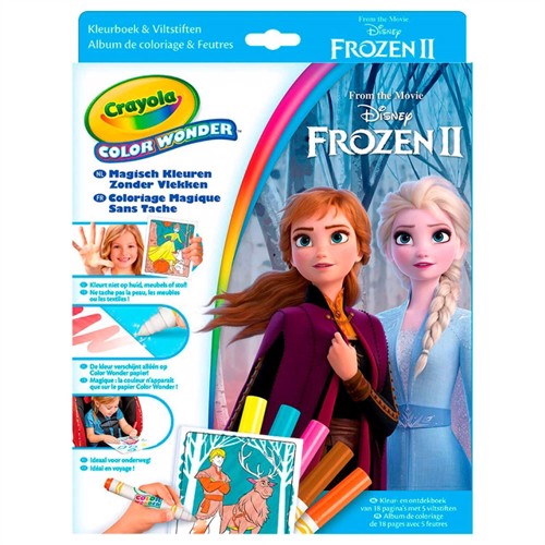 Image of Crayola Frozen 2 Magiske Tusser