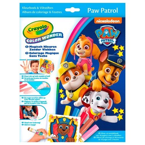 Image of Crayola Color Wonder - Paw Patrol (071662125738)