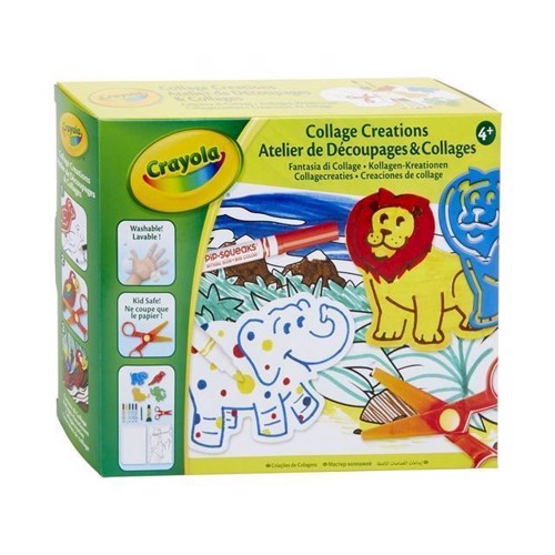 Image of Crayola Craft skarbeloner med dyr