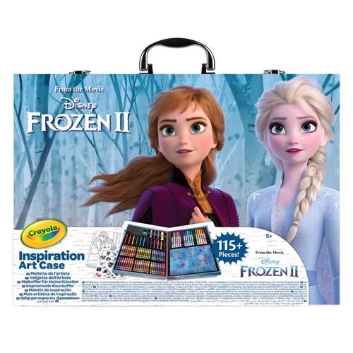 Image of Crayola Frozen 2 Farvekuffert Med 115 Farver