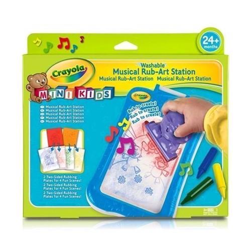 Image of Crayola Mini Kids, tegne tavle, musik og farver
