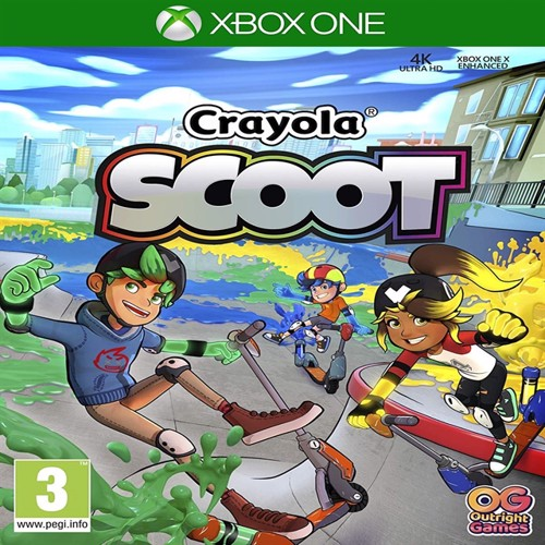 Image of Crayola Scoot, Ps4 (5060528031271)