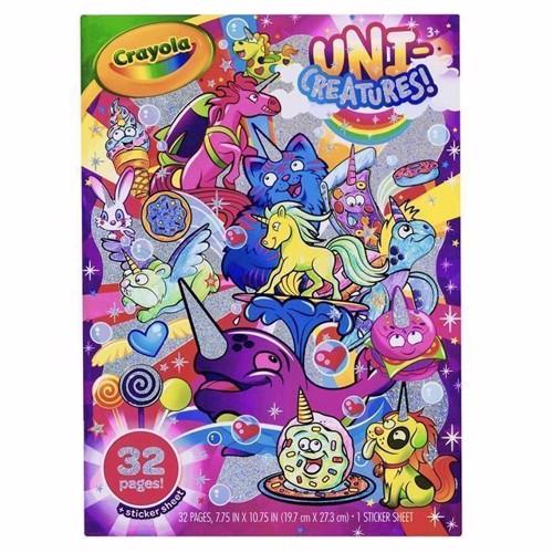 Image of Crayola UniCreatures malebog