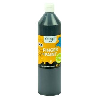 Image of Creall Finger Paint Preservative Free Black, 750ml (8714181078087)