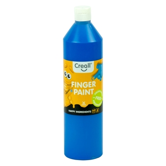 Image of Creall Finger Paint Preservative-Free Blue, 750ml (8714181078049)