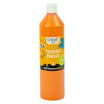 Image of Creall Finger Paint Preservative-Free Orange, 750ml (8714181078094)