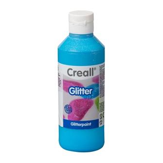 Image of Creall Glitter paint Blue, 250ml (8714181012081)