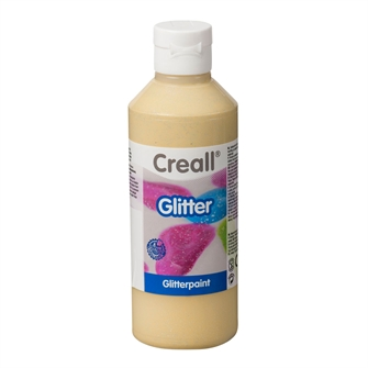 Image of Creall Glitter Paint Gold, 250ml (8714181012197)