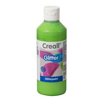 Image of Creall Glitter Paint Green, 250ml (8714181012104)