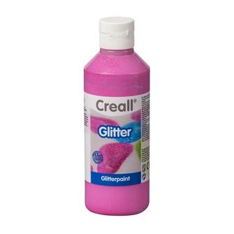 Image of Creall Glitter paint Pink, 250ml (8714181012166)