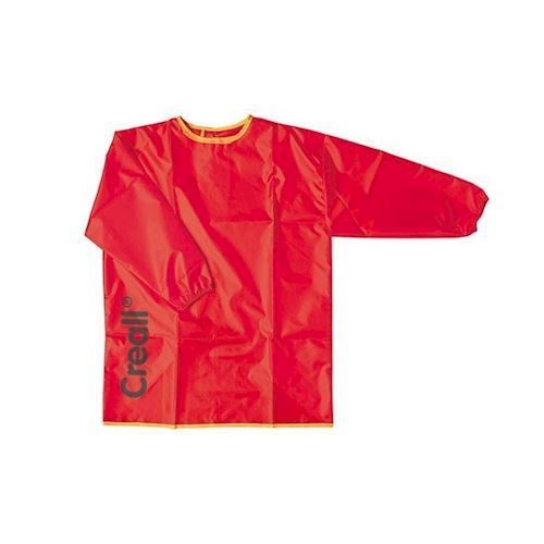 Image of Creall børneforklæde Rød, str M (8714181270054)