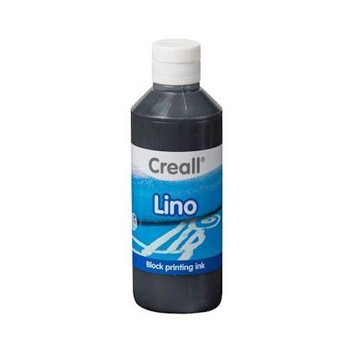 Image of Creall Lino Blockprint maling sort 250ml (8714181370099)