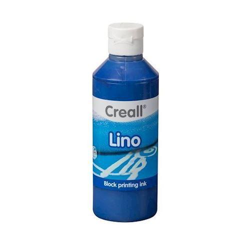 Image of Creall Lino Blockprint maling mørk blå 250ml (8714181370051)