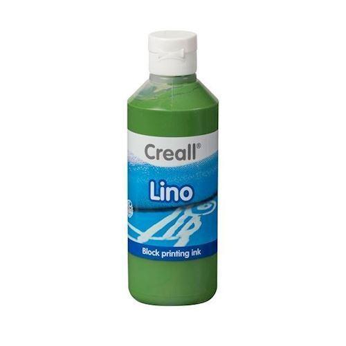 Image of Creall Lino Blockprint maling grøn 250ml (8714181370075)