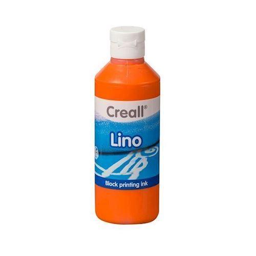 Image of Creall Lino Blockprint maling orange 250ml (8714181370020)