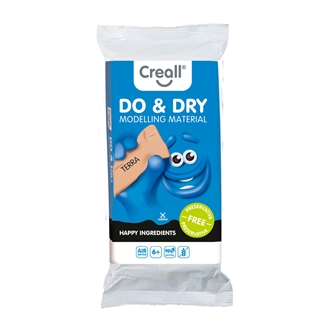 Image of Creall Modeling Clay Preservation-Free Terra, 500gr. (8714181262110)