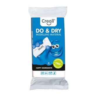 Image of Creall Modeling Clay Preservative Free White, 500gr. (8714181262103)