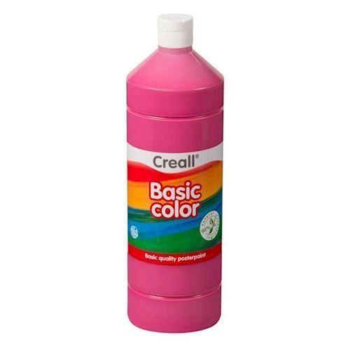 Image of Creall skole maling pink 1 liter (8714181018083)