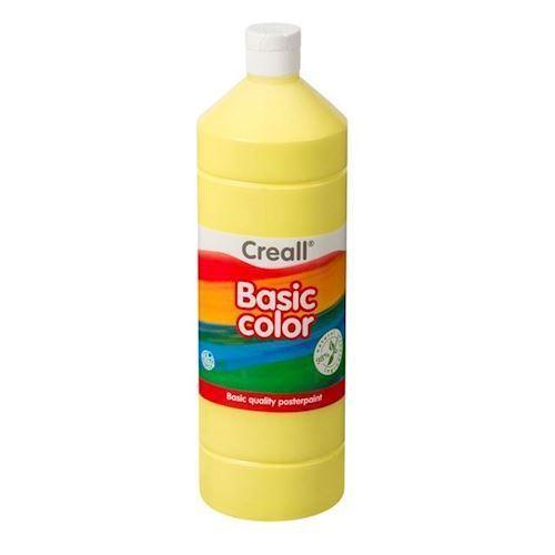 Image of Creall skole maling lys gul 1 liter