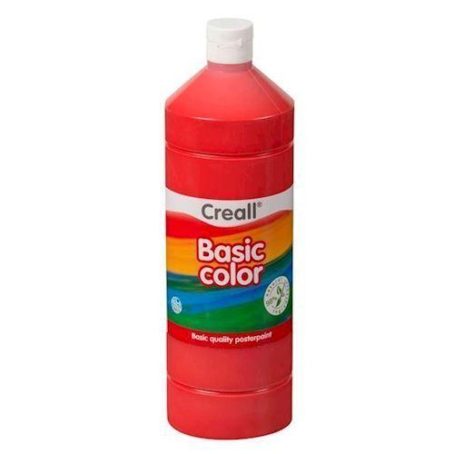 Image of Creall skole maling rød 1 liter (8714181018076)