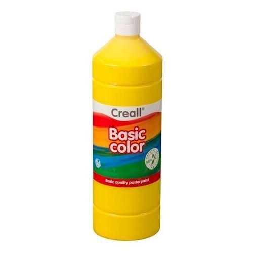 Image of Creall skole maling gul 1 liter (8714181018021)