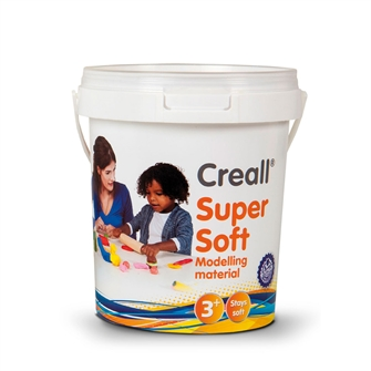 Image of Creall Supersoft Clay 5 colors, 450gr. (8714181250704)