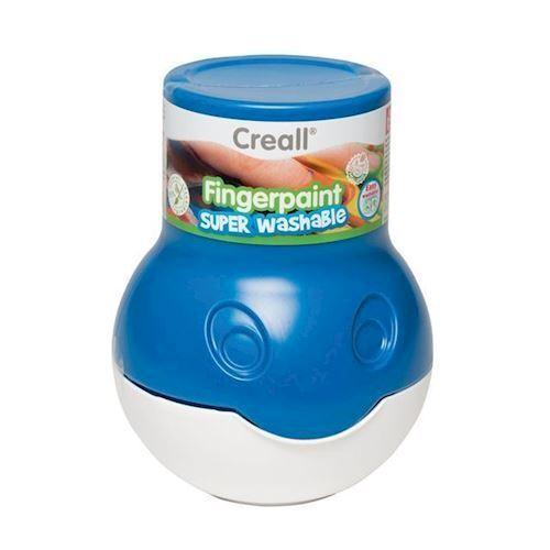 Image of Creall vaskbar finger maling blå 500 ml (8714181075048)