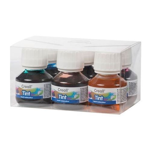 Image of Creall vandfarve sæt 50 ml, 6 stk (8714181044204)