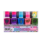 Create It! Color Changing Nail Polish, 5pcs - Combi Pack