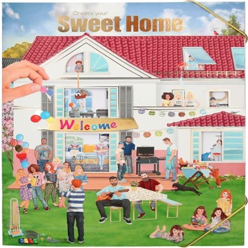 Image of Create your sweet home - Klistermærke bog
