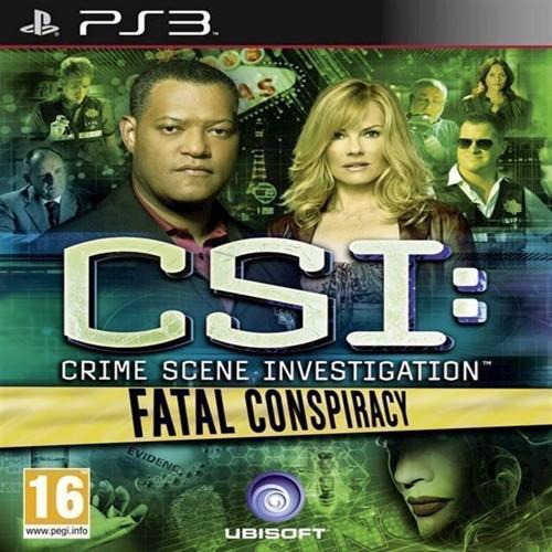 Image of   CSI Crime Scene Investigation Fatal Conspiracy - PS3