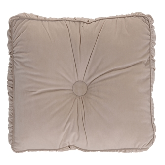 Image of Cushion Jasmine Velvet - Beige (8719202857429)