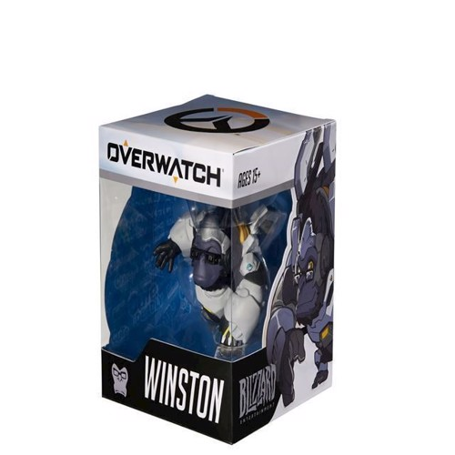 Image of   Cute But Deadly Medium Figur Overwatch Winston