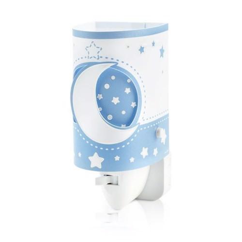 Image of Dalber natlampe LED moonlight selvlysende blå (8420406800707)