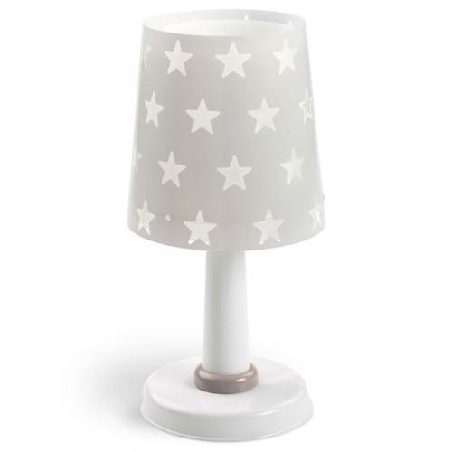 Image of Dalber bordlampe selvlysende stjerner grå 30 cm (8420406812113)